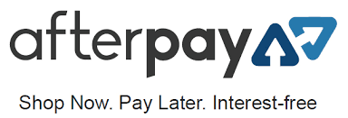 Afterpay logo for adult online shopping.